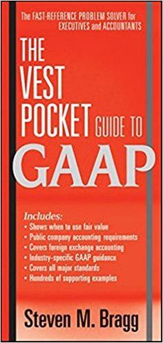 Read pdf managerial accounting tools for business decision making unlimited read and download the vest pocket guide to gaap populer ebook by steven fandeluxe Choice Image