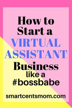 How to Become a Virtual Assistant...virtualt assistant jobs at home | virtual assistant jobs for beginners via @https://www.pinterest.com/smartcents/