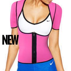 24483fe689a6f Sweat and Slim Fitness Vest Pink. Eva Mercado · -Work outfits · WAIST  TRAINER ...