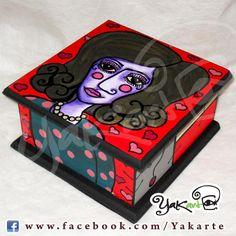 """Caja Mágica """"Lola Corazón de Melón"""" www.facebook.com/Yakarte"""