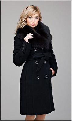 Купить зимнее драповое пальто