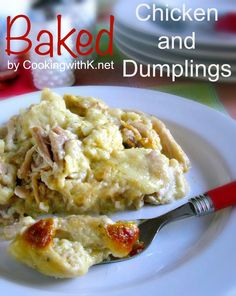Southern | Cooking with K: Baked Chicken and Dumplings