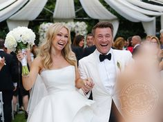Dancing with the Stars' Kym Johnson and Robert Herjavec Are Married!  Wedding, Kym Johnson