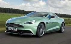 This is my Aston Martin Pearl Green that the dealership is holding for me