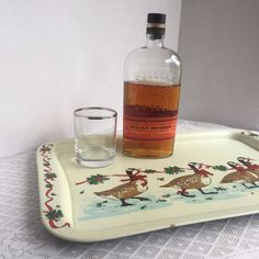 Serve up drinks at this year's holiday party with this festive goose tray!