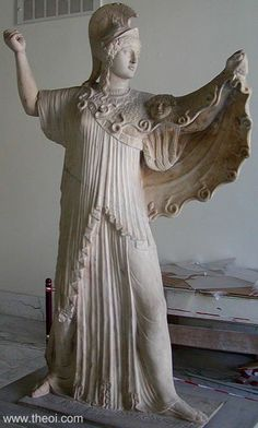 ATHENE    Museum Collection: Museo Archeologico Nazionale di Napoli, Naples, Italy
