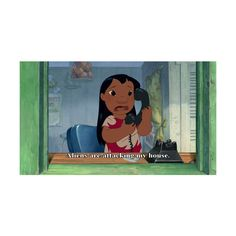 BUNiCULA- Lilo and Stitch ❤ liked on Polyvore featuring disney, pictures, funny, quotes, backgrounds, fillers, saying, text and phrase
