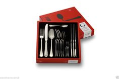Oxford Cutlery Box 16 Pcs 18/10 Stainless Steel From Gense Made in Sweden #Gense