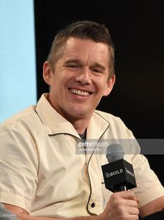 Ethan Hawke attends the AOL Build Speaker Series to discuss 'Born To Be Blue' at AOL Studios In New York on March 25, 2016 in New York City.