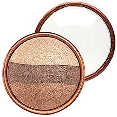 Stila - Eye Shadow Trio in Bronze Glow - rose/ gold bronze/ ivory  #sephora