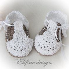 CROCHET PATTERNcrochet baby booties no34crochet baby