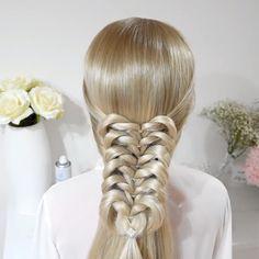 Long Box Braids: 67 Hairstyles To Upgrade Your Box Braids - Hairstyles Trends Box Braids Hairstyles, Cool Hairstyles, Hairstyle Braid, Hairstyles Videos, Korean Hairstyles, Bun Updo, Beautiful Hairstyles, Long Box Braids, Braids Easy