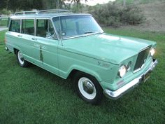 """Camp Host"" 1965 Jeep Wagoneer with original ""Vigilante"" 327 V8.  For sale on Ebay."