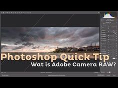 Wat is Adobe Camera RAW?   Photoshop Quick Tip   Cursussen   Zoom.nl