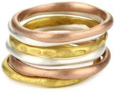 Kevia Tri-Color Mixed Finish Round Stacking Ring Set kevia, http://www.amazon.com/dp/B0054CEI3E/ref=cm_sw_r_pi_dp_bXhEqb03XE9AJ