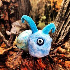 Yeti Cyclops Snail one of a kind rare frozen by GlazyDaysandNights