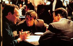 "Michael Mann, Al Pacino, Robert De Niro, ""Heat"""