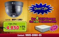 Special offer for LG Dome Cameras - Hyderabad - Home Appliances