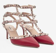 """Our Editors' Ultimate Holiday Wish List: Under $1,000: I've been dreaming of these colorblock Valentino rock-stud pumps ($945) for quite some time. The red-and-nude combo makes a statement without being too flashy, the gold hardware lends the perfect amount of shine, and the 2 ½-inch heel ensures I'll wear them as more than just """"dinner shoes."""""""