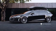 Tesla Model S Wagon Render - Credit: Rain Prisk Designs