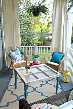 One Room Challenge – Week 6 – THE REVEAL! #OneRoomChallenge #porch