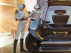 Syd Mead - U.S. Steel Concepts
