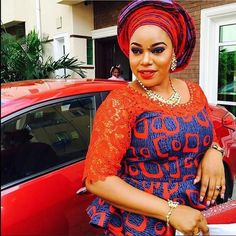 There are quite a few ways to acquire ourselves beautified taking into consideration an aso ebi styleNigerian Yoruba dress styles , Even if you are thinking of what to create and execute next an Asoebi style. African Blouses, African Lace, African Wear, African Attire, African Dress, African Fabric, African Prom Dresses, Latest African Fashion Dresses, African Print Fashion