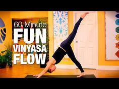 Constant Flow Yoga Class - 30 Minutes - Five Parks Yoga - YouTube