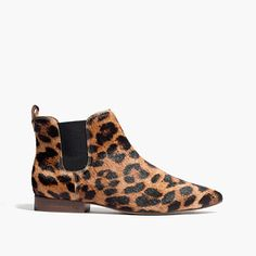 Madewell - The Nico Boot in Leopard