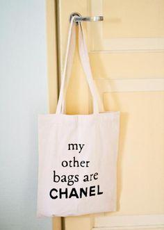 chanel bag ;)