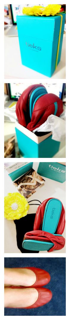 I got my tieks today and they are wonderful! Such a pretty box, felt like quite the gift to myself! They are as lovely and as wonderful as I had hoped! #tieks