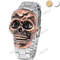 http://www.tinydeal.com/it/bolun-flap-skull-flame-pattern-unisex-quartz-analog-watch-p-109537.html  (BOLUN) Retro Flap Style Skull & Flame Pattern Unisex Quartz Watch Analog Wrist Watch