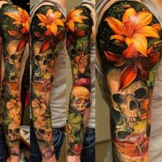 Pin de jessy sanchez em tattoos lily tattoo design, lillies tattoo e nature Lily Tattoo Design, Lotus Flower Tattoo Design, Tattoo Designs Men, Realistic Flower Tattoo, Flower Tattoo For Men, Lotus Tattoo Men, Lotus Flower Tattoos, Realistic Tattoo Sleeve, Natur Tattoo Arm