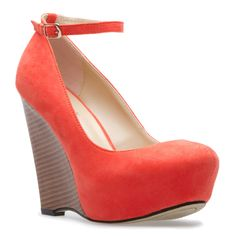 #coral #wedge