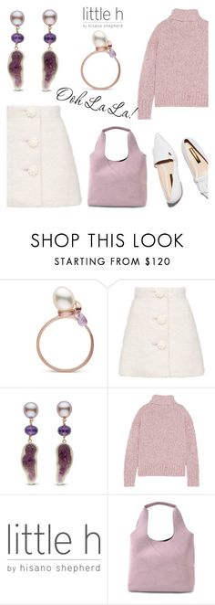 """Ooh La La by Little h Jewelry"" by littlehjewelry ❤ liked on Polyvore featuring J.Crew and Hogan"