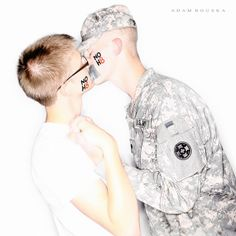 Since the NOH8 Campaign had been something that we'd both followed for a while we decided that it was something that we wanted to do together. We wanted to show our support together and celebrate the fall of DADT . CLICK TO READ MORE
