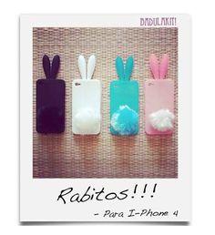 Rabito - Case de celular R$25.00