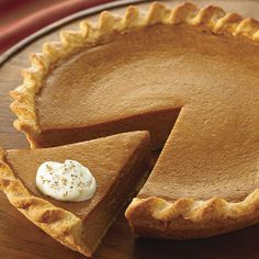 everyone is raving about this fabulously easy pumpkin pie. Make the pie even more festive by serving it with Vanilla Whipped Cream. Easy Pumpkin Pie, Pumpkin Pie Recipes, Pumpkin Dessert, Pie Dessert, Fall Recipes, Pumpkin Spice, Holiday Recipes, Dessert Recipes, Gastronomia