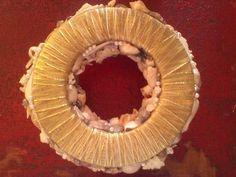 Beautiful Base for a Beautiful Piece FB: Southern Charm Seaside Christmas Shop Seashell Centerpieces, Southern Charm, Christmas Shopping, Sea Shells, Seaside, Base, Beautiful, Design, Seashells
