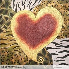 Heartbeat II (60x60)