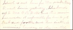 Debby's Family Genealogy Blog: Carrie's letters               Snow Days