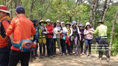 Mountain Hiking in the Soraesan on April 28th 2015 in Incheon South Korea