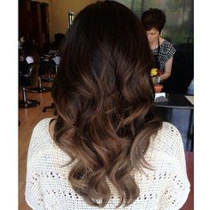 Balayage Color for Black Hair