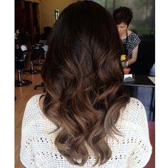 Balayage Color for Black Hair