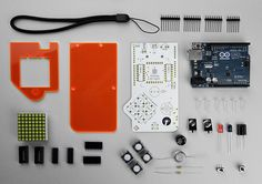 build a videogame console with technology will save us' DIY kit - designboom | architecture & design magazine