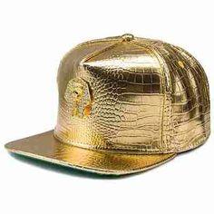 d5eec9c1f93 Gold Pharaoh Snapback Caps. Hat MenHats For MenLeather HatsPu LeatherSnapback  CapMen FashionBaseball HatsFive Panel ...