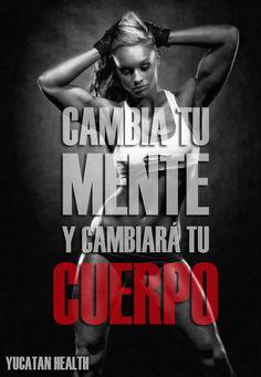 Cambia tu mente y cambiará tu cuerpo!!! #motivation #motivacion #fitness Motivation Inspiration, Fitness Inspiration, Bodybuilding, Fitness Models, Sport Motivation, Running Workouts, Nike Running, Fitness Quotes, Fitness Humor