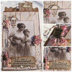 """Card by LLC DT Member Elin Torbergsen, using papers from Pion Design's """"A Day in May"""" collection."""
