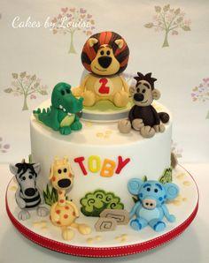Raa Raa The Noisy Lion - by cakesbylouise @ CakesDecor.com - cake decorating website