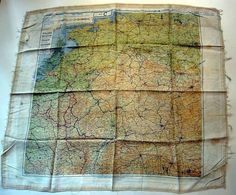S/Sgt. James L. Holloway's WWII Escape Map